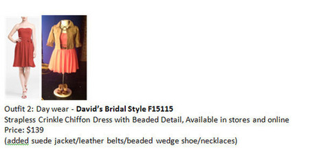 David's Bridal » Blog Archive » Wedding Wednesday! You CAN Re-Wear Those Bridesmaids Dresses again!   Wedding Ideas   Scoop.it