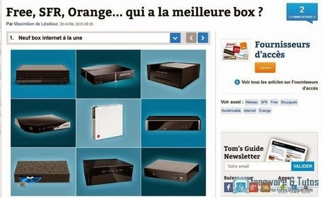 Le site du jour : dossier-comparatif des box internet du moment | netnavig | Scoop.it