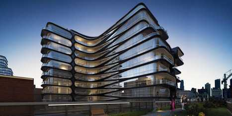 Famed Architect Zaha Hadid Unveils Her First Building In New York City | Unique architectural designs | Scoop.it