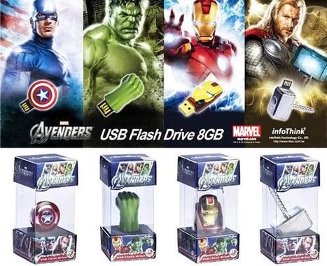 The Avengers USB Flash Drives   NextGadgets.net   Cool Gadgets, New Gadgets, Latest Gadgets, Future Gadgets, Electronic Gadgets, Hi Tech Gadgets News   New Gadgets   Scoop.it