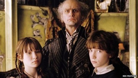 Lemony Snicket books to become TV series - BBC News | CGS Popular Authors | Scoop.it