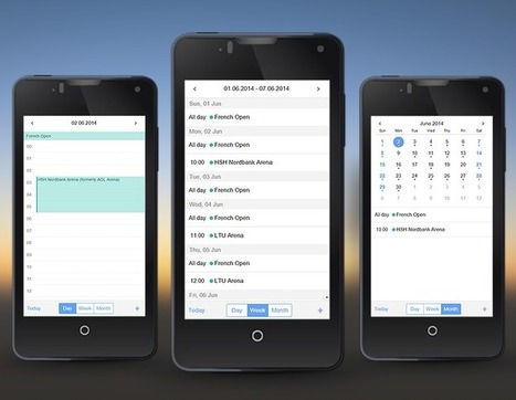 Webix Scheduler  - JavaScript Event Calendar for Mobile Devices | Next Web App | Scoop.it