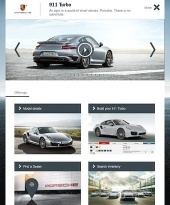 Porsche uses mobile ad to amplify social campaign - Luxury Daily - Mobile | Marques Premiums & Marketing Digital | Scoop.it