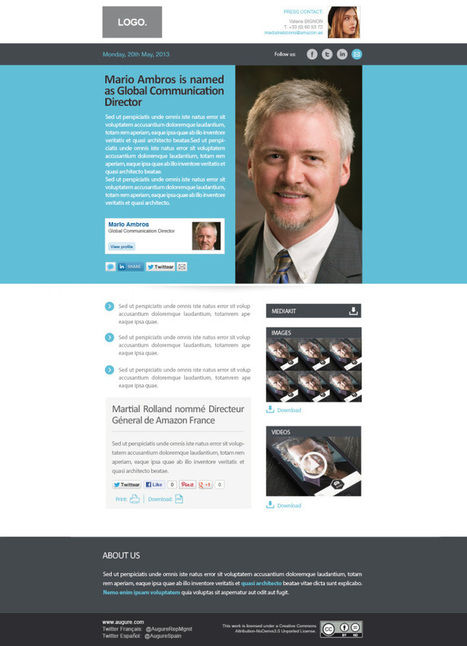 Creation and templates of Press Releases 2.0 | Public Relations | Scoop.it