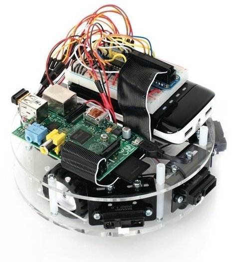 Frindo Open Source Robotics Platform for Arduino and Raspberry Pi Boards | Open Source Science and Technology | Scoop.it
