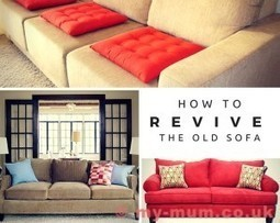 How To Revive The Old Sofa | Home Improvement | Scoop.it