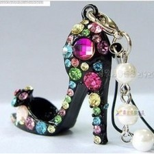Cheap Lovely Colorful Crystal High Heels Pendant Accessories SP03312 | fashion and cheap jewelry | Scoop.it