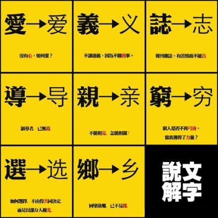 Chinese characters in a nutshell | Chinese online learning resources for intermediate level 中級中文學習資源 | Scoop.it