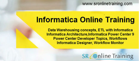 Learn Complete Fundamentals about Informatica Training   Sr Online Training   Scoop.it