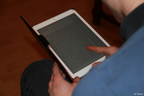 Le Havre Une application sur tablette pour lutter contre l'illettrisme bientôt testée au Havre | Nouvelles du monde numérique | Scoop.it