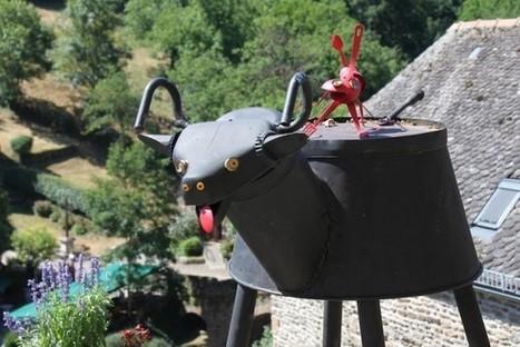 Les bestioles de Pierre Prévost colonisent l'été de l'Ouest Aveyron | L'info tourisme en Aveyron | Scoop.it