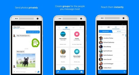 Facebook Messenger For Android Adds 'Pin Chats to Home Screen' Feature   Digital-News on Scoop.it today   Scoop.it