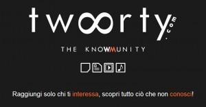Twoorty, il social network per condividere interessi e passioni | Social Media: notizie e curiosità dal web | Scoop.it