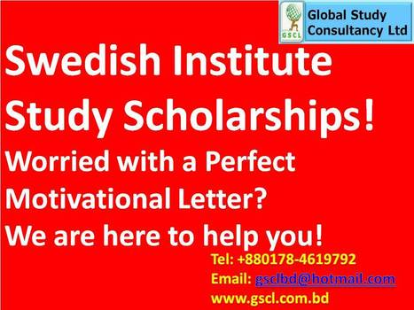Global Study Consultancy-Swedish Scholarships | Global Study Consultancy Ltd, Dhaka, Bangladesh | Scoop.it