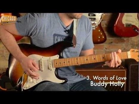 L'histoire du rock en 100riffs de guitare | Guitare passion | Scoop.it