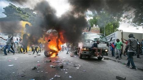 Haiti's anti-government protests continue for fifth day | Haiti - History | Scoop.it