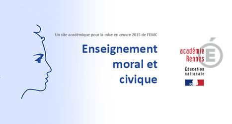 Ressources pour mettre en œuvre l'Enseignement moral et civique - Académie de Rennes | actualités HG | Scoop.it