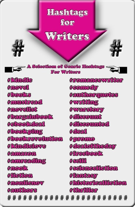 A Book Marketing Guide - Are You Using Hashtags on Twitter?   eBook Publishing   Scoop.it