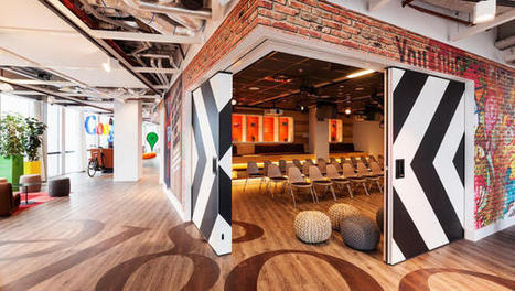 A peek at Google's new Amsterdam offices - Who said work can't be fun? | Digital Marketing | Scoop.it
