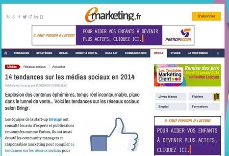 14 tendances sur les médias sociaux en 2014 | #TonUpdate | Medias - actualites | Scoop.it
