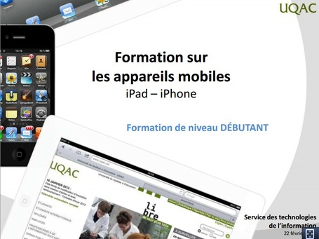 S'approprier l'iPad rapidement | Learning 2.0 ! | Scoop.it