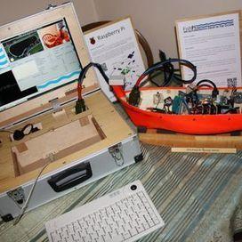 Making an autonomous boat using a Raspberry Pi (a work in progress).   Raspberry Pi   Scoop.it