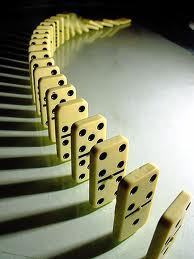 Domino Theory: Small steps can lead to big results | omnia mea mecum fero | Scoop.it