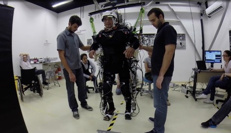 Paralyzed Patients Able to Move After Using a Mind-Controlled Exoskeleton | Science, Technology, and Current Futurism | Scoop.it