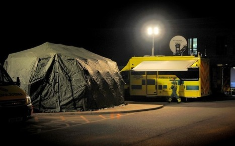 Crisis hospital sets up tent for A&E patients  - Telegraph | welfare cuts | Scoop.it