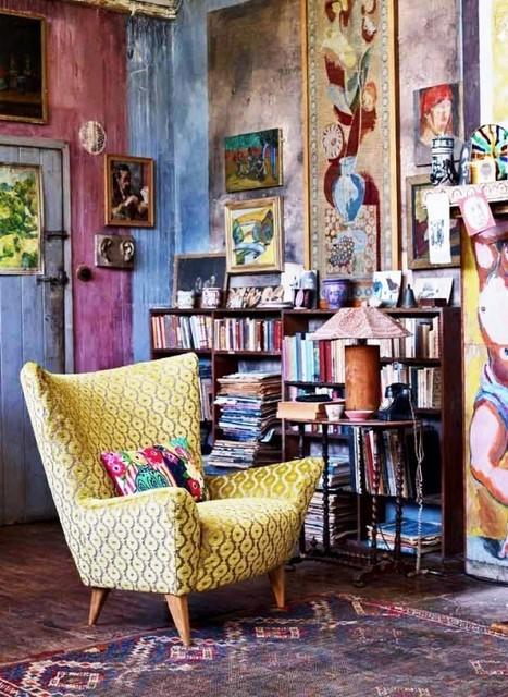 51 Inspiring Bohemian Living Room Designs | DigsDigs | Luxury Fashion Brand Management | Scoop.it
