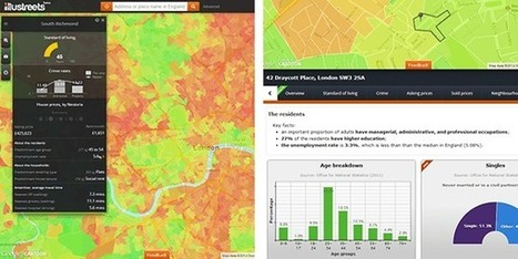 The Usability of a Web Mapping Application with a Million Rows of Data | Remote Sensing News | Scoop.it