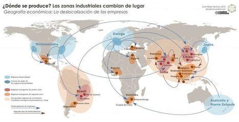 La deslocalización - El orden mundial en el S.XXI | GEOGRAFIA SOCIAL | Scoop.it