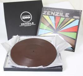 disque en chocolat et disque vinyle de Zenzile | Du vinyle au disquaire indépendant | Scoop.it