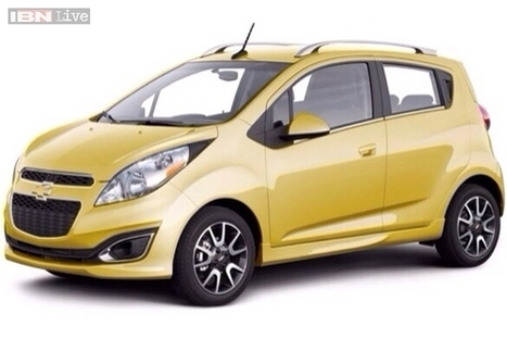 Auto Expo 2014: Chevrolet Beat facelift teased | checkcarin | Scoop.it