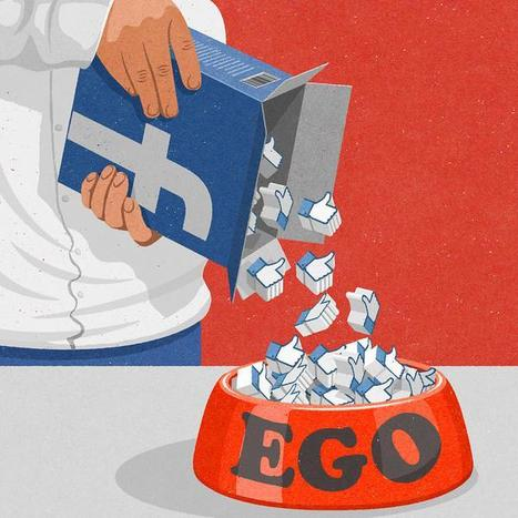 "#Facebook ""Ego"" #Illustration de  John Holcroft 