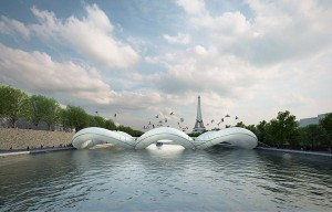In both air and water-trampoline bridge in Paris | Residential Interior Services | Scoop.it