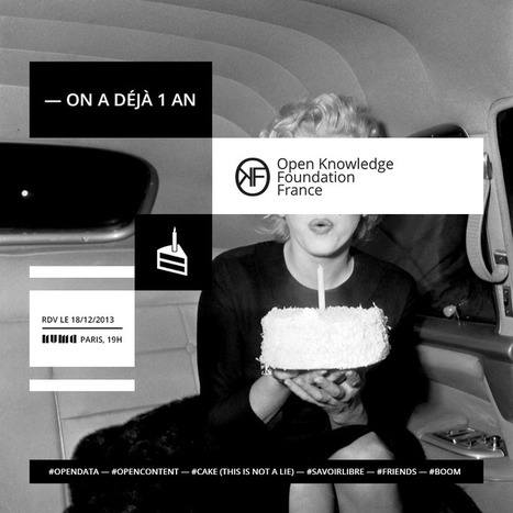 L'OKF France a un an, fêtons le savoir libre et ouvert au NUMA !   OKF France   Logiciels libres,Open Data,open-source,creative common,données publiques,domaine public,biens communs,mégadonnées   Scoop.it