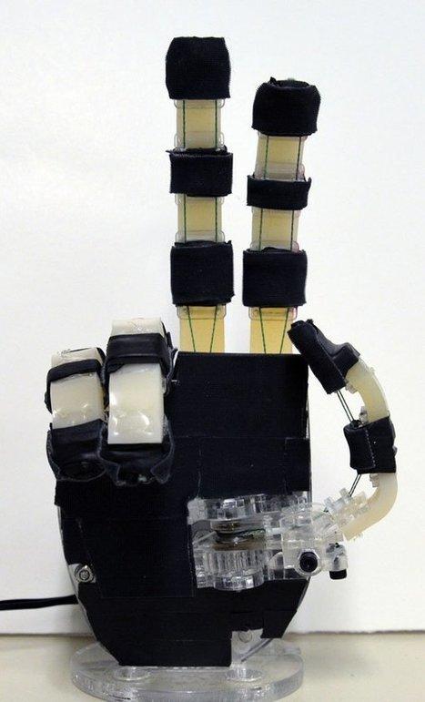 OpenBionics' Open Source Robotic Prosthetic Hand can Execute 144 Different Grasps & Costs Under $200 | Digital Fabrication | Scoop.it