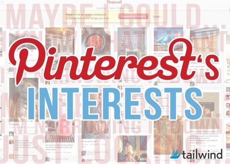Pinterest's Interests - What Do They Mean? - Tailwind Blog: Pinterest Analytics and Marketing Tips, Pinterest News - Tailwindapp.com | Digital-News on Scoop.it today | Scoop.it