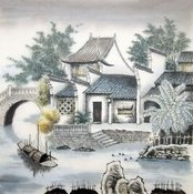 Chinese Mountain and Water Paintings for sale! | Artisoo Chinese Painting | Scoop.it