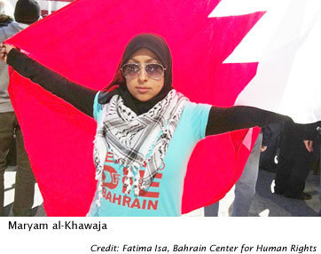 Bahrain's Young Women Keep the Revolution Aloud | Womens eNews | From Tahrir Square | Scoop.it