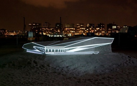 A Modern Sand Sculpture Comes to Life: Creative Architectural Video Mapping   Video mapping   Scoop.it