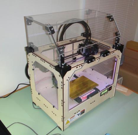 New Makerbot Replicator Enclosure!   3D Printing and Fabbing   Scoop.it