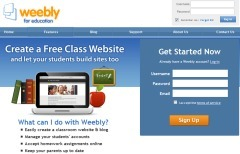 Weebly for Education | 2.0 Tools... and ESL | Scoop.it