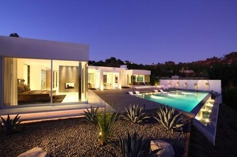 Maison design sur les collines d'Hollywood   Arkko   Scoop.it