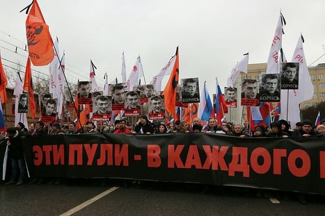 Fort Russ: What do the Banderite and Nemtsov's memorial rallies have in common? | Global politics | Scoop.it