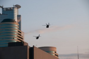 Downtown Mpls. Becomes Black Hawk Helicopter TrainingZone - CBS Minnesota | Gold and What Moves it. | Scoop.it