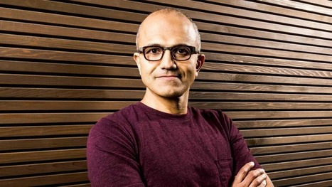 Microsoft's CEO Breaks Down The New Soul Of HisCompany | Human Touch | Scoop.it