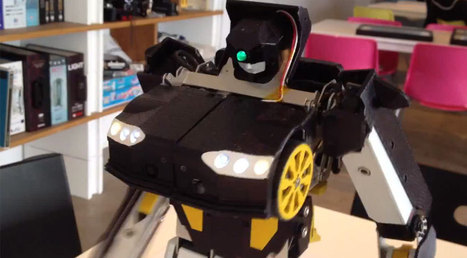 $24,000 Transform Robot goes from car to humanoid - Industry Tap   Geekeries   Scoop.it