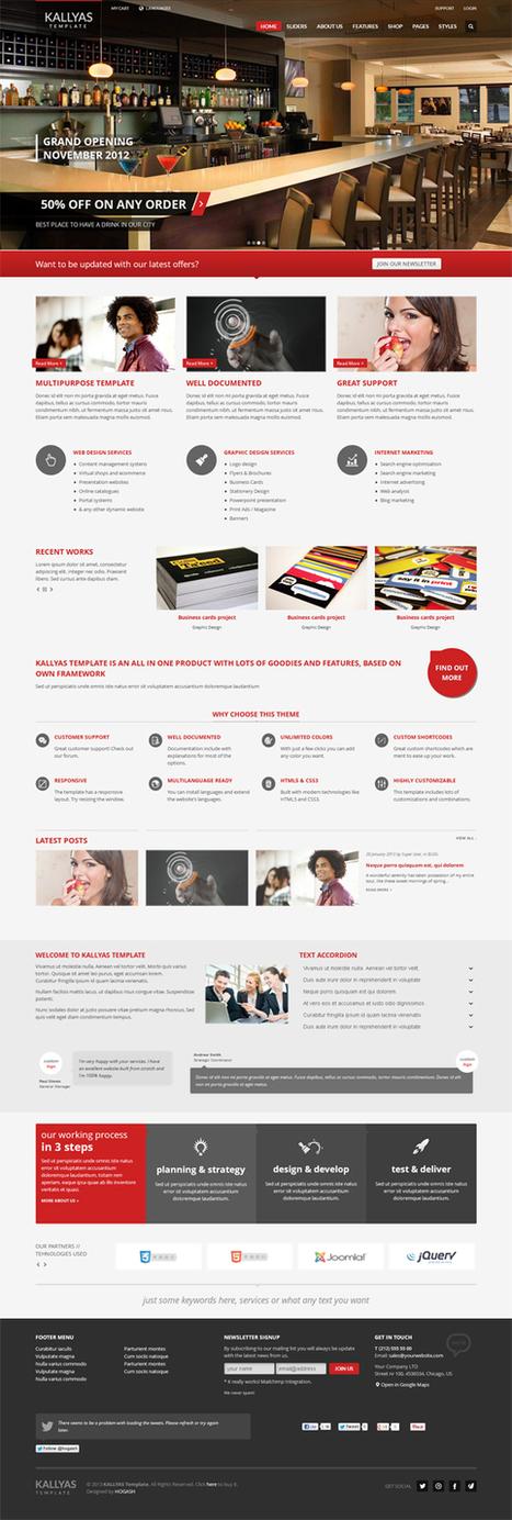 KALLYAS, Joomla Responsive Multi-Purpose Template | Premium Download | rerewrrrrrrrrrrrrrrrrrrrrrrrrrrrrrr | Scoop.it